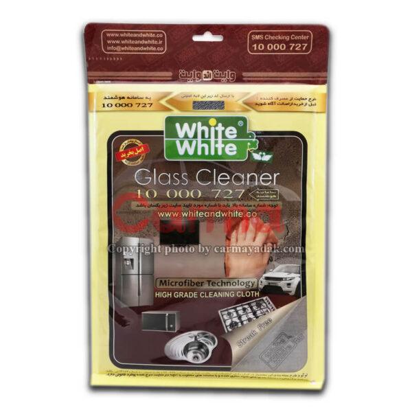 دستمال پاک کننده سطوح )بدون آب( برند White & White (اصلی)