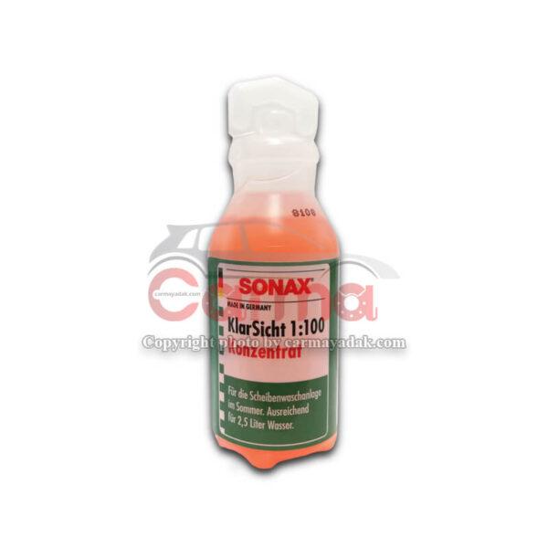 مایع شیشه شور غلیظ SONAX