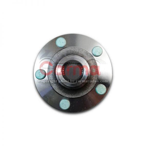مجموعه توپی و پیچ چرخ جلو هایما S7 شرکتی (2)