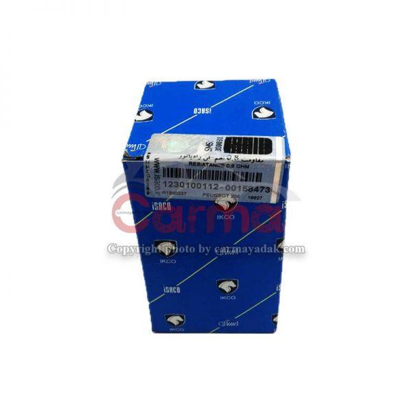 مقاومت فن رادیاتور اچ سی کراس شرکتی