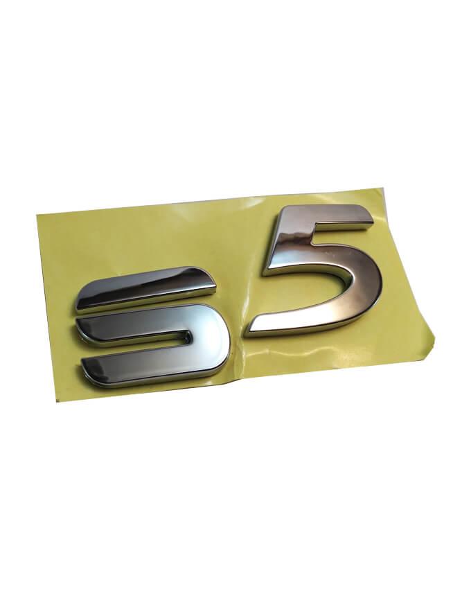 نوشته S5 روی درب عقب هایما S5