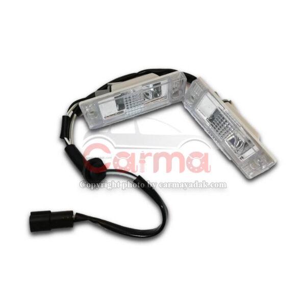 چراغ نمره (پلاک) ام وی ام X33 S شرکتی