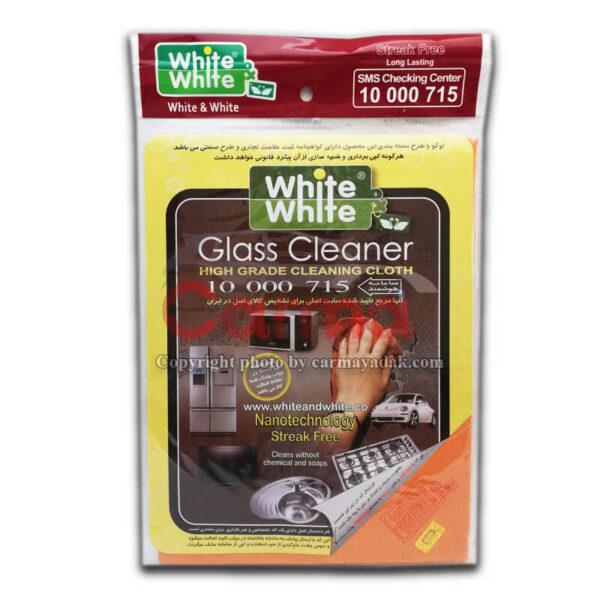 دستمال پاک کننده سطوح )بدون آب( برند White & White (غیراصلی)